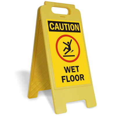 slippery when wet signs wet floor signs. Black Bedroom Furniture Sets. Home Design Ideas