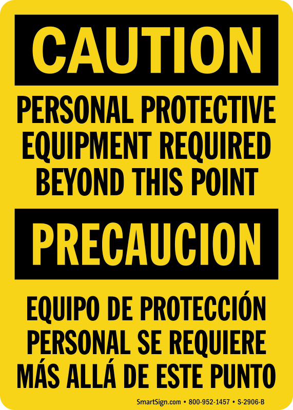 Multi-Hazard PPE Signs...