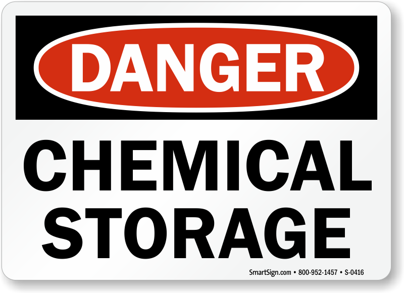 Chemical Danger Signs Mysafetysign Com