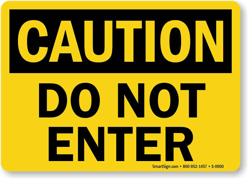 Sassy image pertaining to free printable safety signs