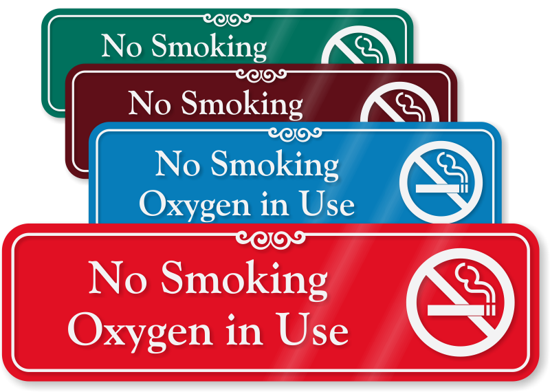 photo about Oxygen in Use Sign Printable known as Oxygen Within Employ the service of Signal Perfect Quotations Selection