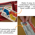 Safety wallet cards: a pocket reference for safe work practices