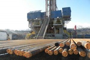 photo of drill rig, hydraulic fracturing
