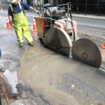 #HazardSpotting: Concrete cutting and work safety zones