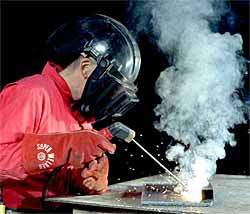 Welder Wear Half Face Mask