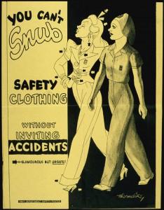 don't snub safety sign