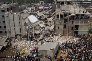 photo of Bangladesh factory collapse