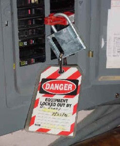 A lack of training in lockout/tagout procedures contributed to the death of a temporary worker this past year. (Photo from chess.cornell.edu.)
