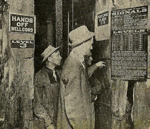 historic photo of coal miners