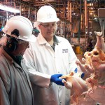 What causes the worst injuries to food industry workers?