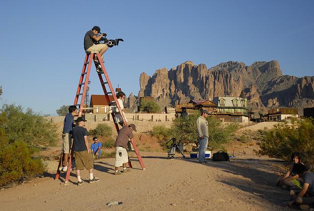 Film Crew In Dangerous Working Condiition
