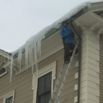 Home ladder safety woes #HazardSpotting