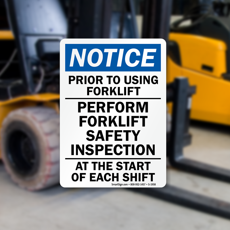 How to Conduct a Pre-Start Forklift Inspection ...