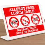 Save lives with Peanut Allergy Safety Signs