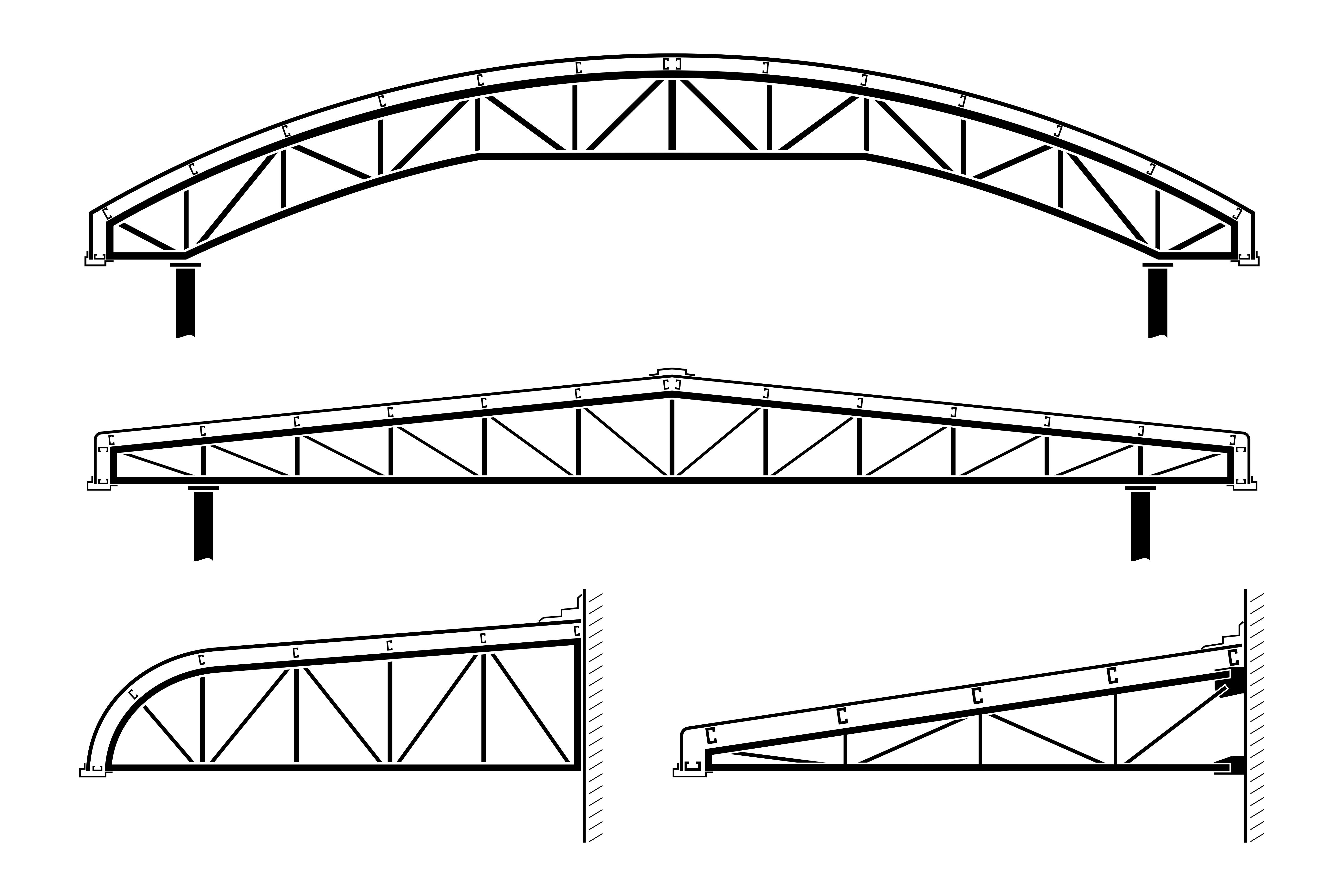 Truss construction what it is and how to warn for Roof truss construction