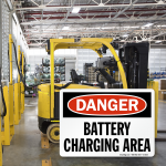 Safety Checklist: Forklift Battery Charging Areas