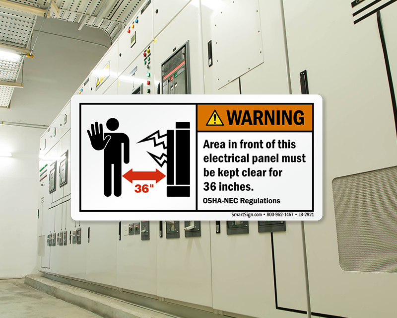 Minimum Clearance Around Electrical Panels (Carrying 600