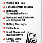 Forklift Safety Inspection: Quick Guide