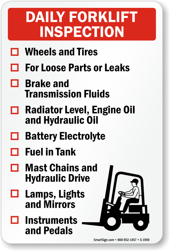 Daily Forklift Safety Requirements