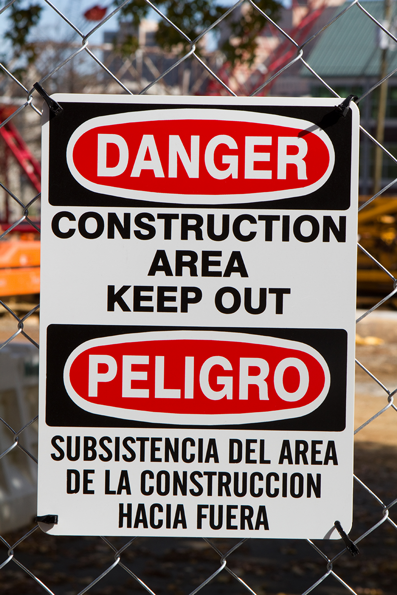 English To Spanish: The Place Of Bilingual Signs In America