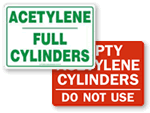 Acetylene Signs
