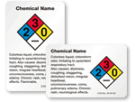 Custom HazCom Or Chemical Labels
