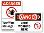 Custom Danger Labels