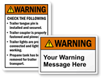 Custom Warning Labels