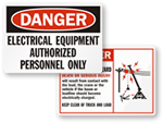 Electrical Safety Labels