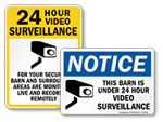 Farm Surveillance Signs