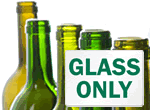 Recycle Glass Bottles Signs & Labels