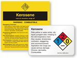 Kerosene Labels