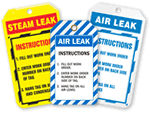 Air Leak Tags and Steam Leak Tags