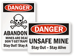 Mine Safety Signs