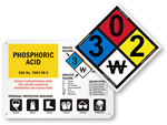 NFPA 704 Signs
