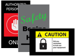 Pre-printed Notrax Safety Message Mats