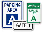 Parking Area Signs – Quick Order