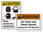 ANSI PPE Signs