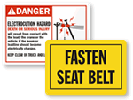 Truck Warning Signs