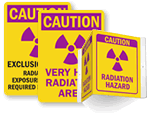 Radiation Warning Signs