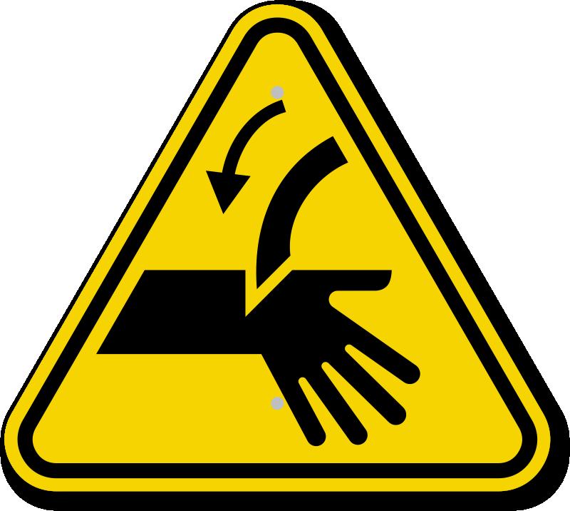 Hand Hazard Symbol Clipart Library