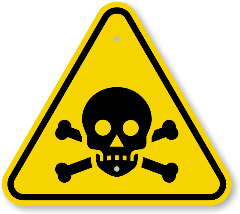 Iso Toxicpoison Warning Sign Symbol Fast Free Shipping Sku Is