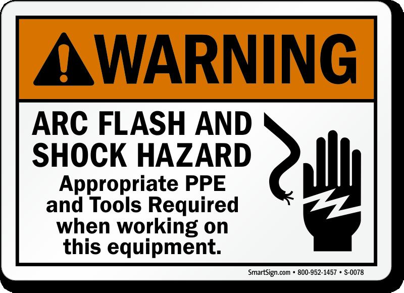 Arc Flash Signs Welding Arc Signs Mysafetysign Com