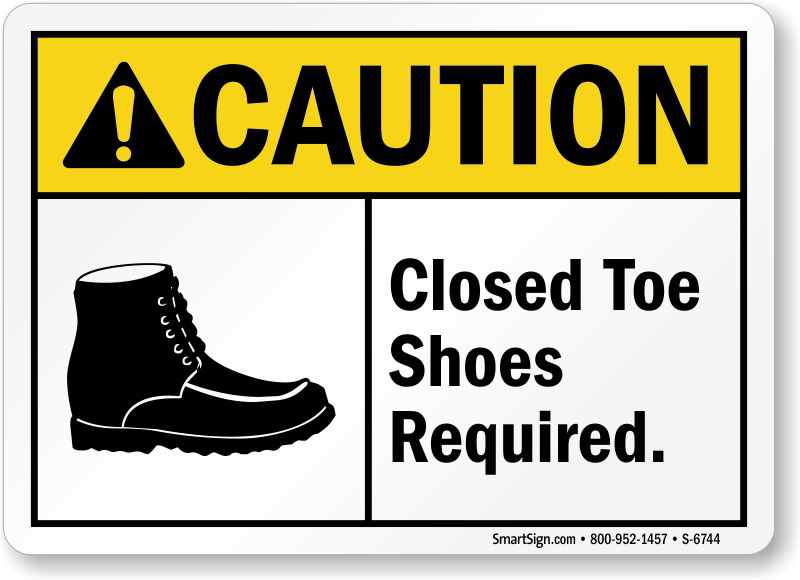 Shop Wear Closed Toed Shoes