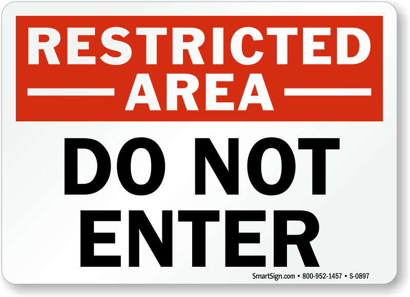 photograph relating to Do Not Enter Sign Printable identified as Do Not Input Symptoms Do Not Input Protection Symptoms