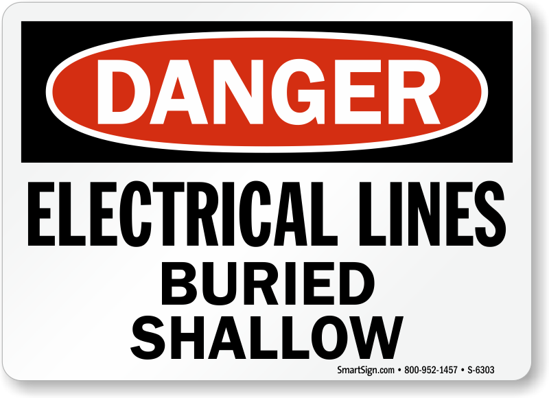 Buried Cable Signs | Buried Cable Warning Signs
