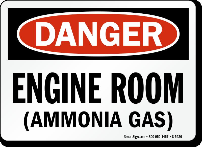 Ammonia Signs Ammonia Warning Signs Mysafetysign