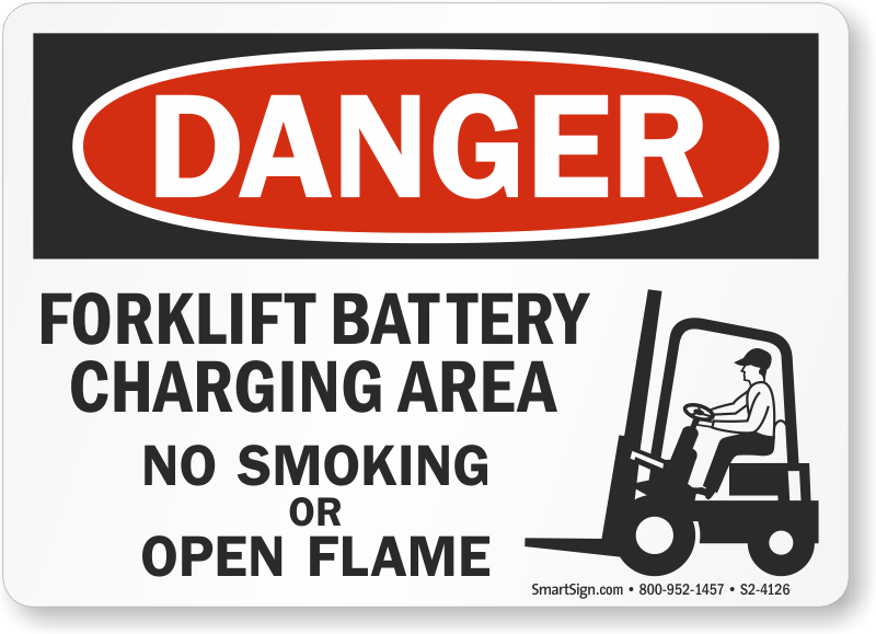 Details about  /Battery Charging Station No Smoking Or Open Flame Warning Metal//Aluminium Signs