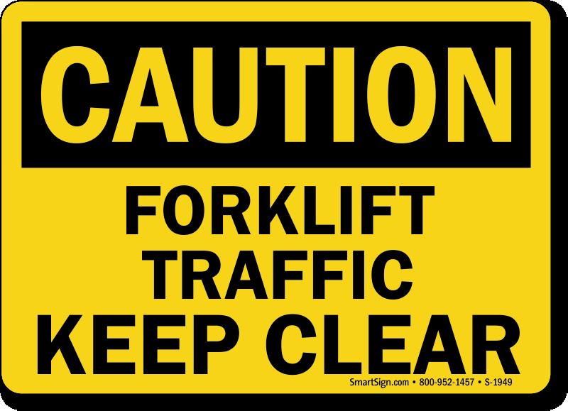 fork lift operations