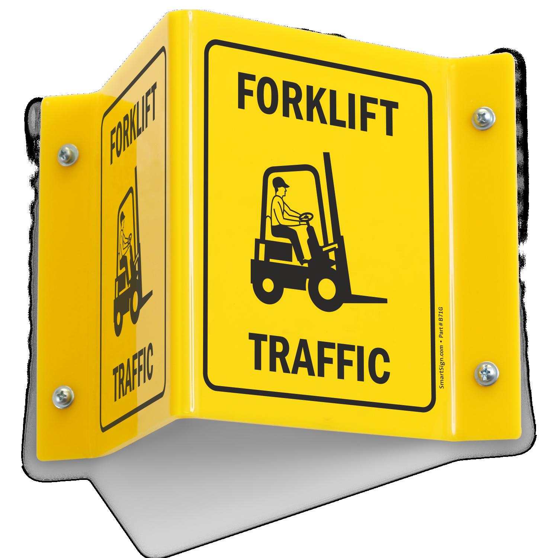 Forklift Signs Forklift Safety Signs Mysafetysign Com